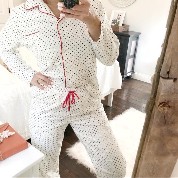 5f619dfb8514 Noire Intimates & Sleepwear   Jasmine Rose Medium Pajama Polka Dot ...